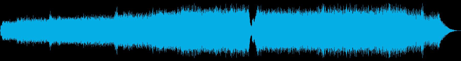 澄み渡る青空_リミックスの再生済みの波形