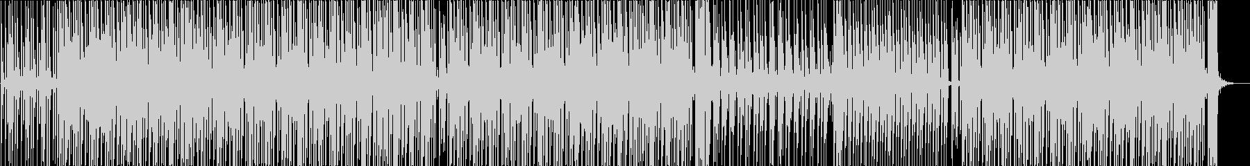妖しいムードのハウス・テクノの未再生の波形