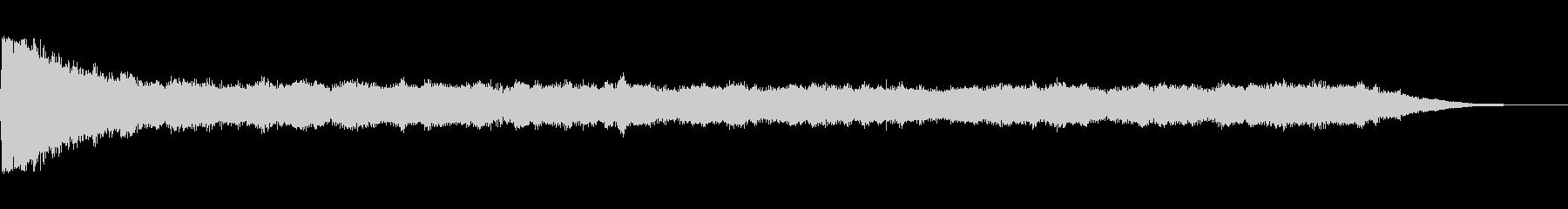 クラシックドローンの未再生の波形