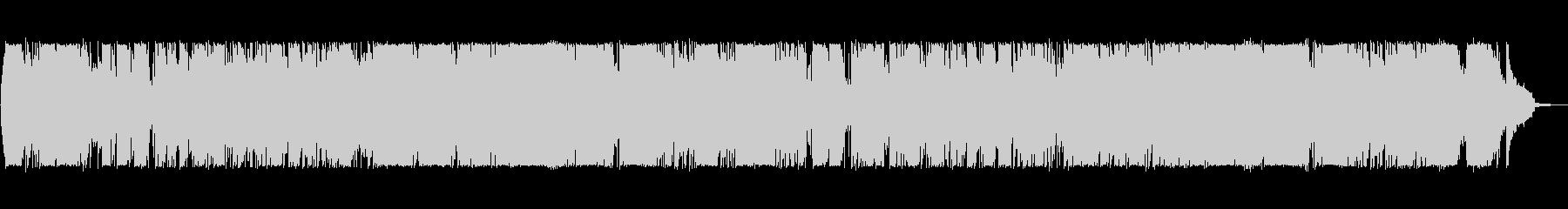 昭和を彷彿させる 可愛い 歌謡曲の未再生の波形