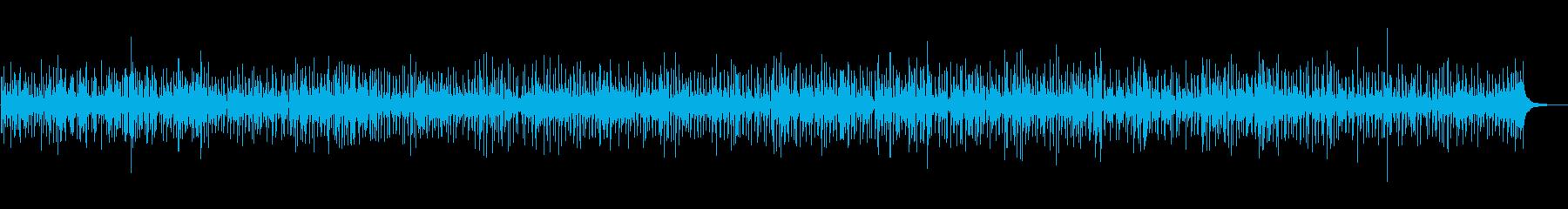 BGM 爽やかピアノジャズ 配信・映像の再生済みの波形