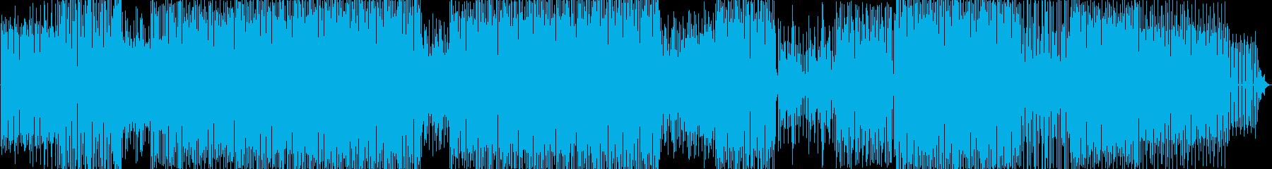 プログレッシブハウスの再生済みの波形