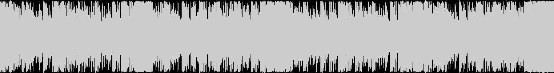 シンセEDMループBGMメインシンセ無しの未再生の波形