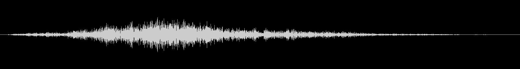 ケトルドラム:連続鳴動ロールの未再生の波形
