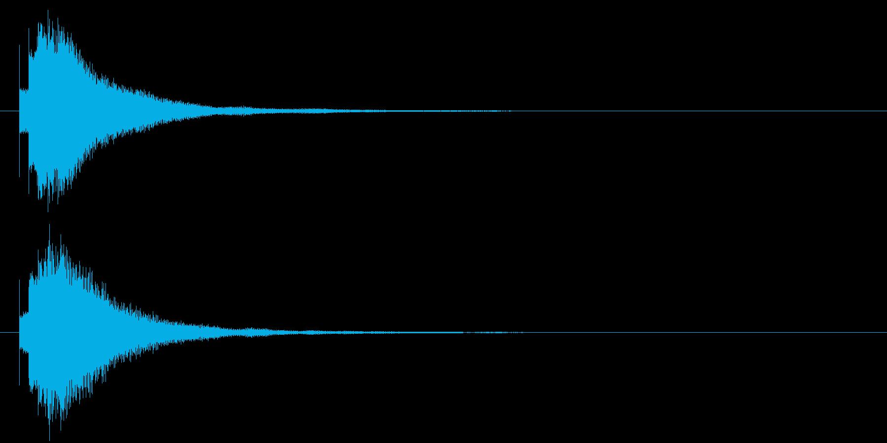 キラリン⑧(星・ひらめき・完成・輝き)の再生済みの波形