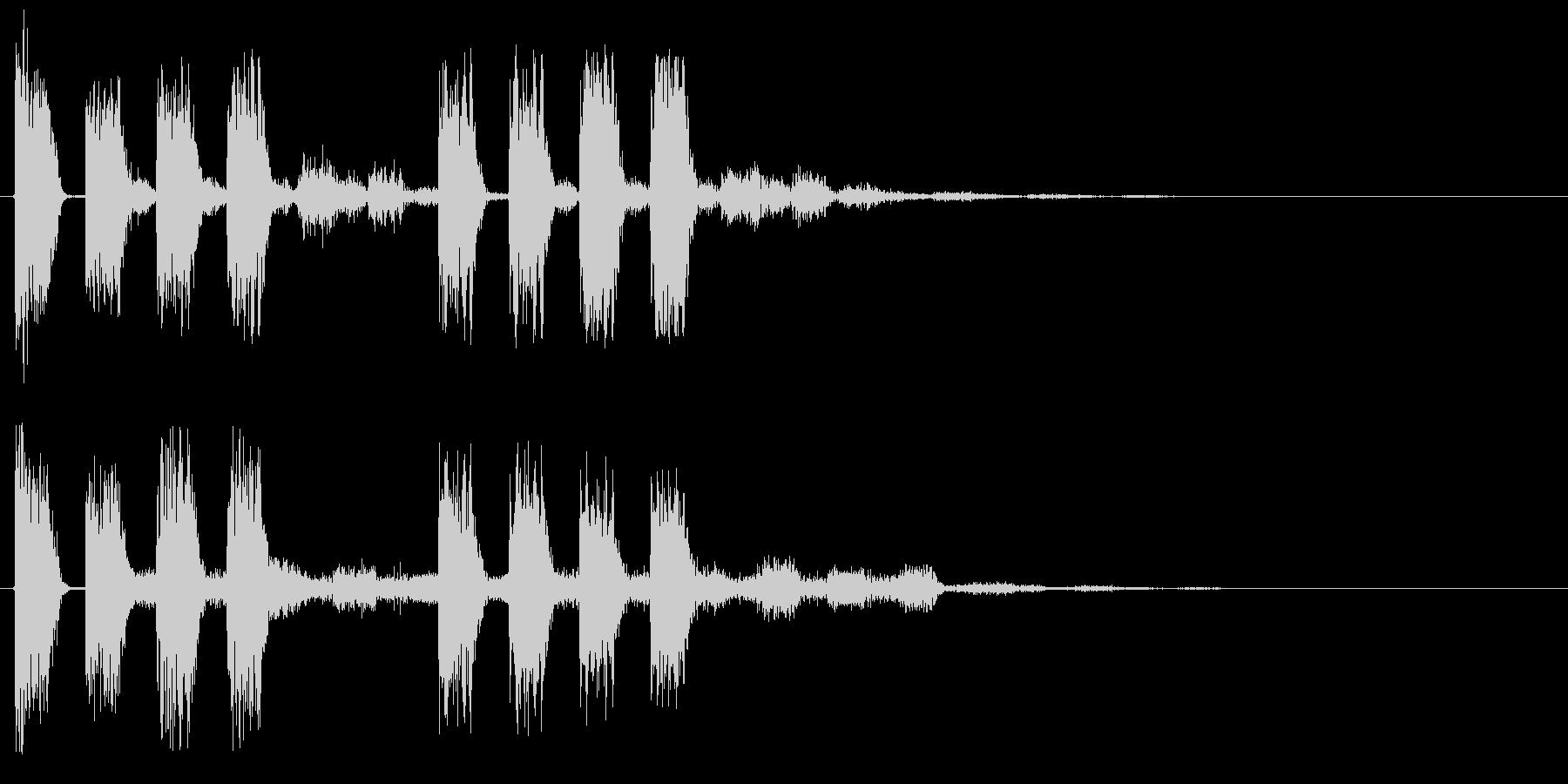 アラート 注意 警戒 警告 危ない ミスの未再生の波形