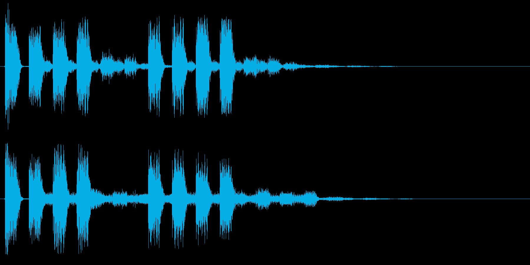 アラート 注意 警戒 警告 危ない ミスの再生済みの波形