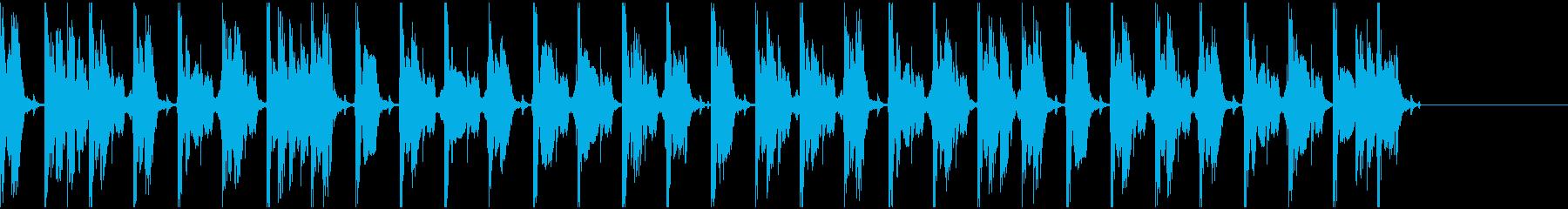 【エレクトロニカ】ロング5、ショート5の再生済みの波形