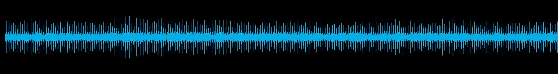 ジー(タイマー音)の再生済みの波形