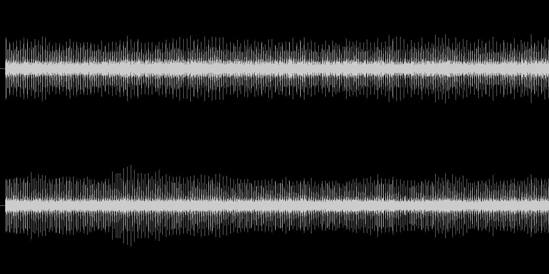 ジー(タイマー音)の未再生の波形
