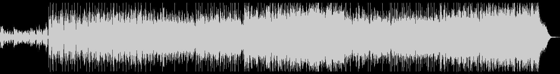 エレクトロヒップホップの未再生の波形