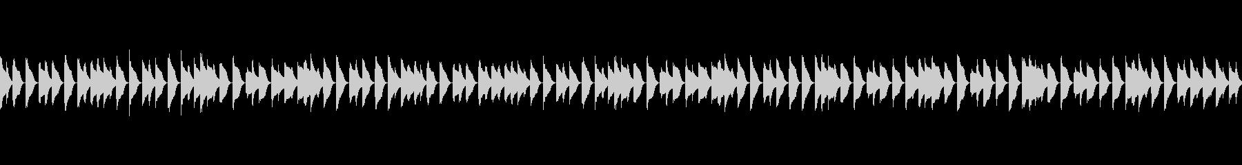 ほのぼのとした日常系ジングル2(ループ)の未再生の波形