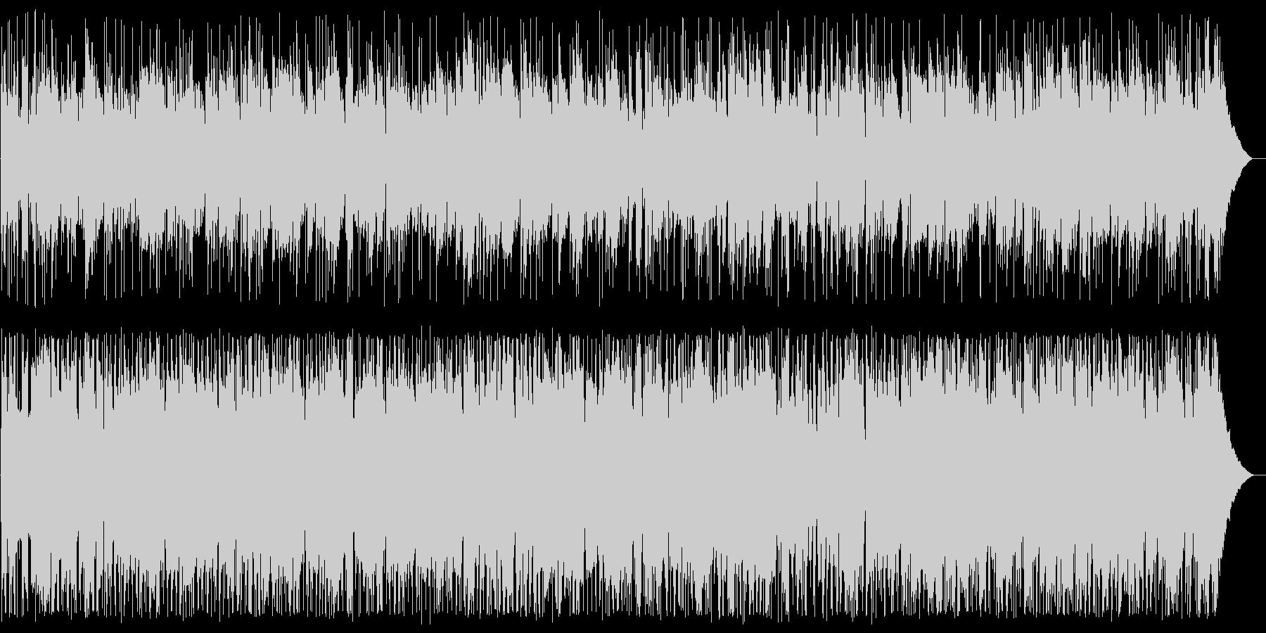 ノクターン ボサノバアレンジの未再生の波形