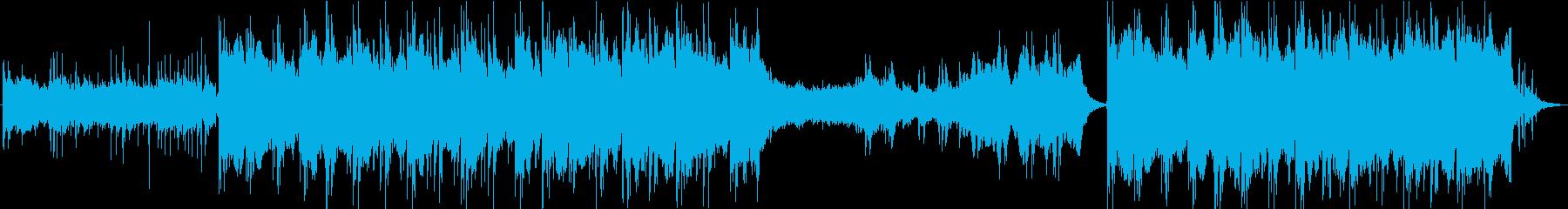 PV】荘厳なエピック系エレクトロの再生済みの波形