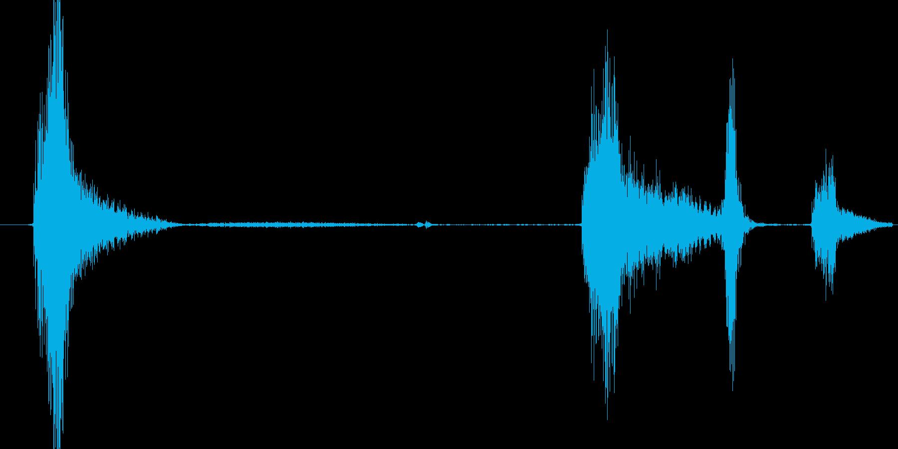 けほっけほの再生済みの波形