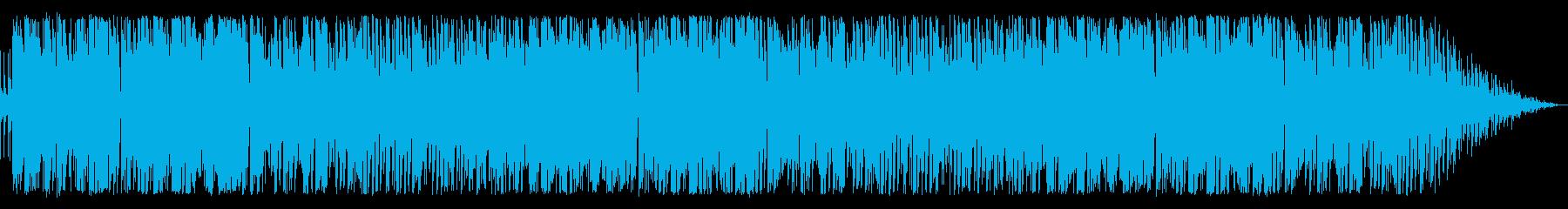 ヒロイン専用の戦闘曲の再生済みの波形