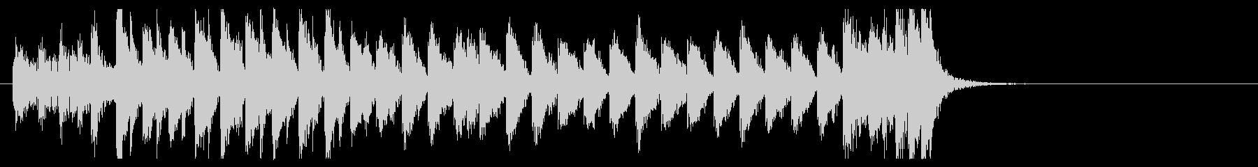 三味線 太鼓のアンサンブル2BPM136の未再生の波形