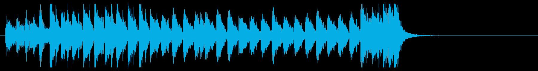 三味線 太鼓のアンサンブル2BPM136の再生済みの波形