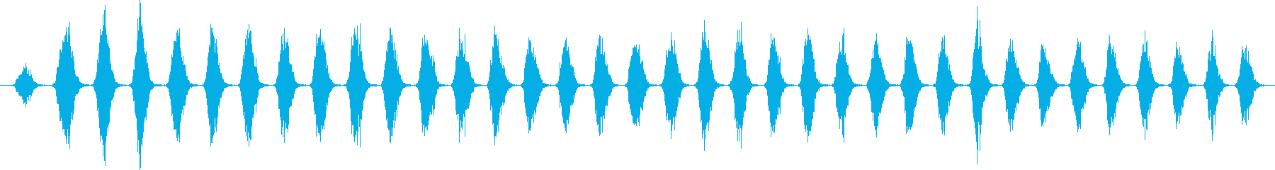 群集 チャンツキル02の再生済みの波形