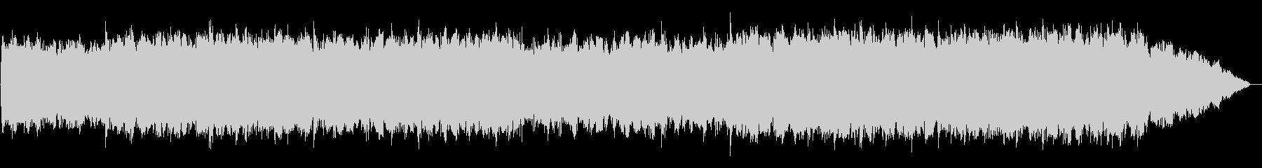 竹笛のメロディーの浮遊感のあるBGMの未再生の波形