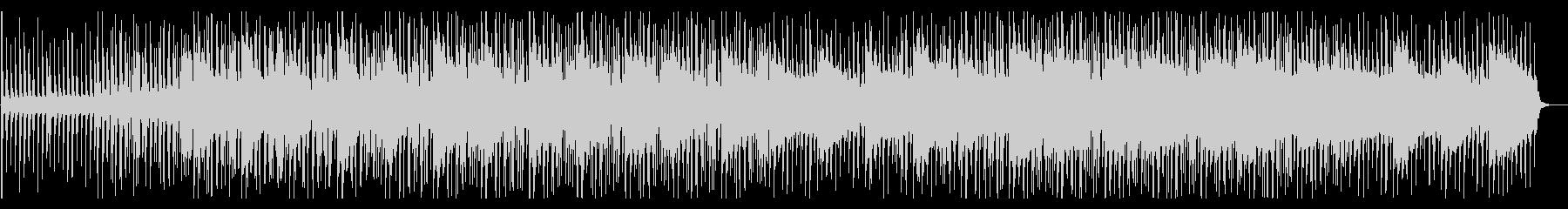 落ち着いた爽やかなBGM/ピアノ/シンセの未再生の波形