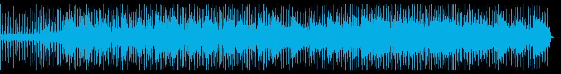 落ち着いた爽やかなBGM/ピアノ/シンセの再生済みの波形