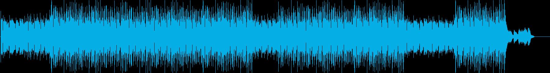洋楽、チルアウト、ヒップホップトラック♪の再生済みの波形