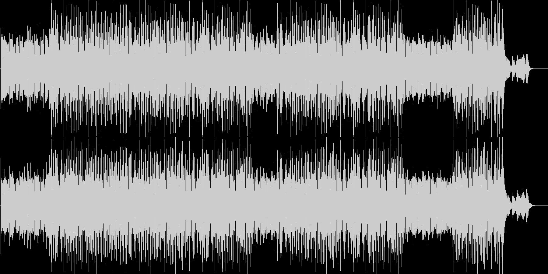 洋楽、チルアウト、ヒップホップトラック♪の未再生の波形
