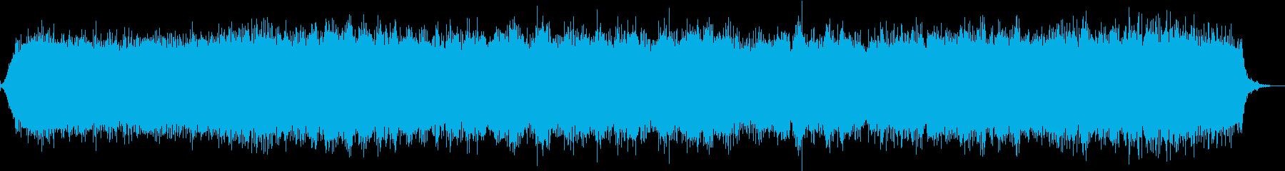 【生録音】ヘアドライヤーの音 ノーマルの再生済みの波形