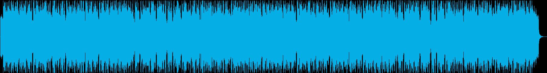 ゆったり爽やか南国ウクレレハワイアンaの再生済みの波形