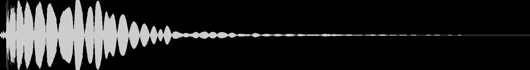 ヒットヒットインパクト3の未再生の波形