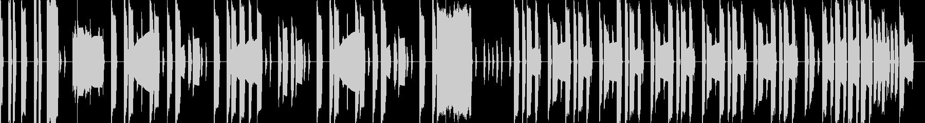 マリオ風の本格ファミコン曲1の未再生の波形