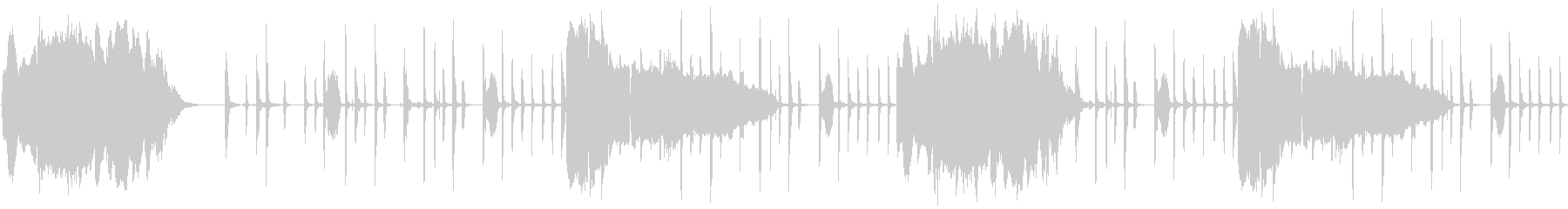 【女性バラード/ビートボックス】の未再生の波形