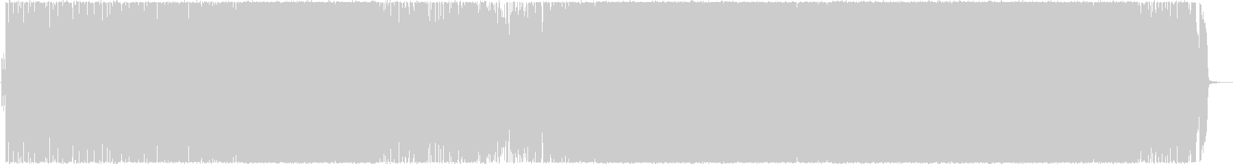 熱いギターロックBGM2の未再生の波形
