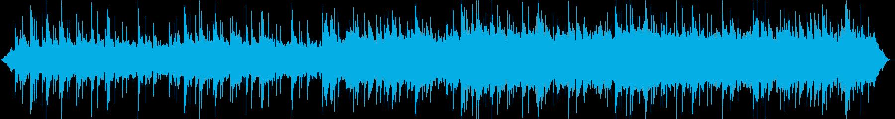 海音とピアノが印象的なリラックス音楽の再生済みの波形