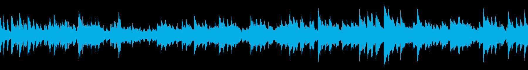 ほのぼのしたポップなBGM(ループ仕様)の再生済みの波形