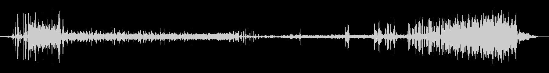 ファンスモールブロークン;オン、異...の未再生の波形
