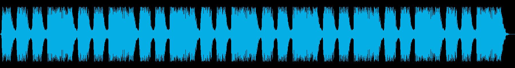 ハードコア風ショートサウンド#03の再生済みの波形