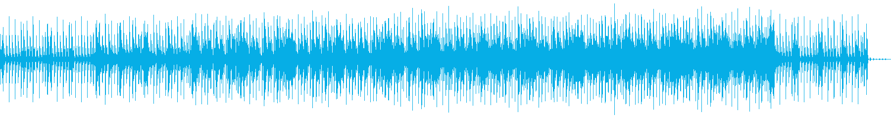 切ない 戦闘 4つ打ち BGMの再生済みの波形