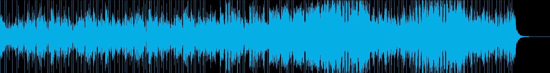 口笛とストリングスのほのぼのポップスの再生済みの波形