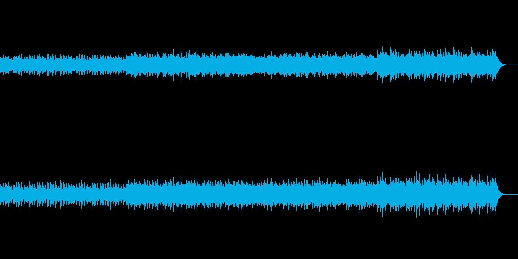午後の窓辺で静かに鳴るオルゴールの再生済みの波形