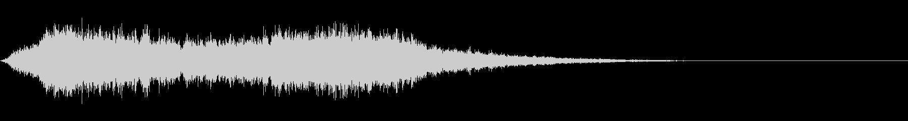 シューッという音EC07_91_3 2の未再生の波形