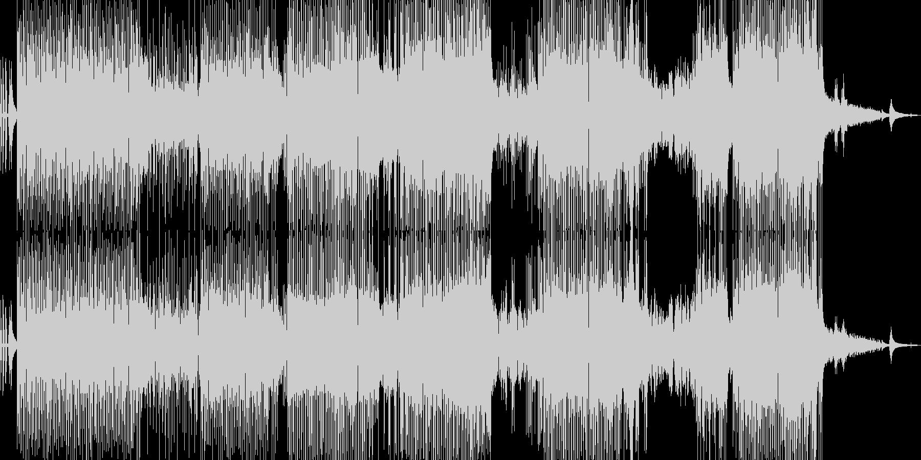 フルート・涼しい雰囲気のポップ 長尺の未再生の波形