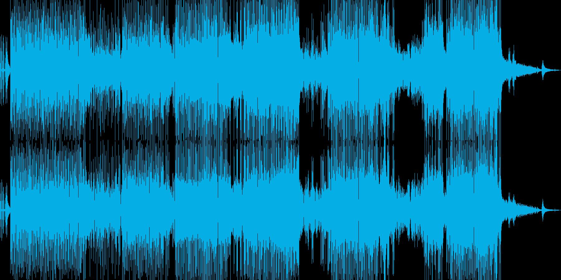 フルート・涼しい雰囲気のポップ 長尺の再生済みの波形