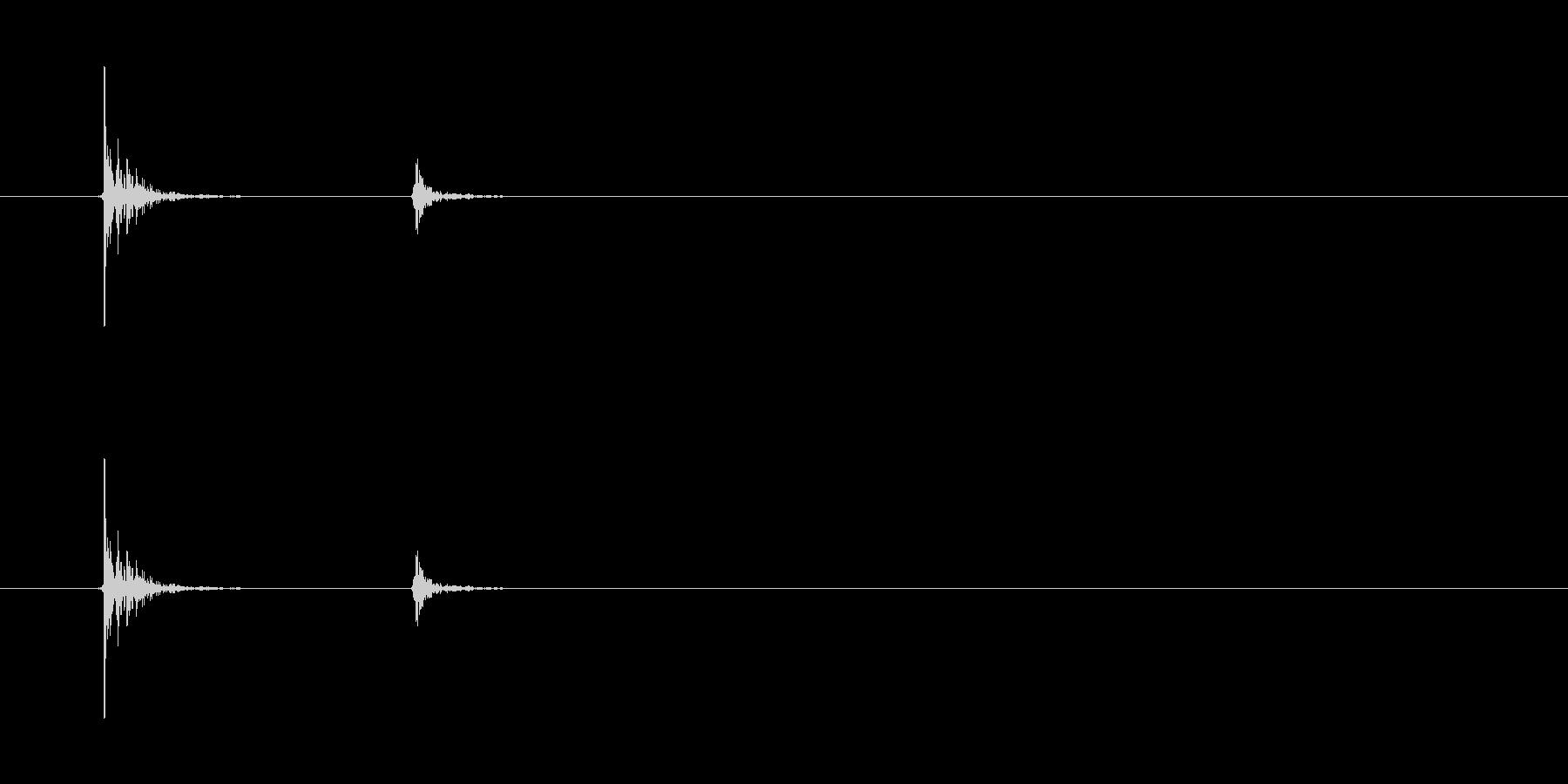 コト(コップを置く音)6の未再生の波形