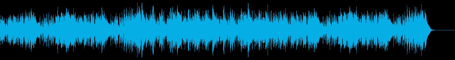 Youtube・セクシーな夏の海・ジャズの再生済みの波形