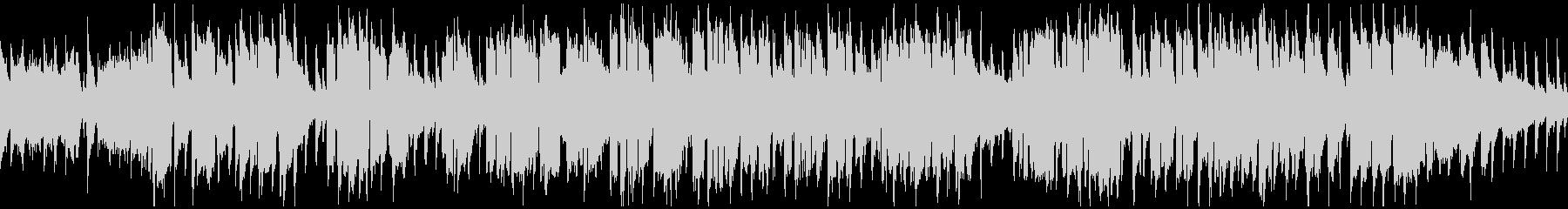遠足ピクニック系の楽しいBGM※ループ版の未再生の波形
