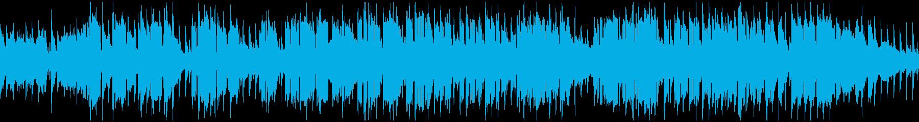 遠足ピクニック系の楽しいBGM※ループ版の再生済みの波形