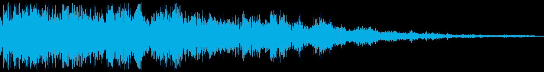 コイン(ジャラジャラ/ザクザク/ザザーの再生済みの波形