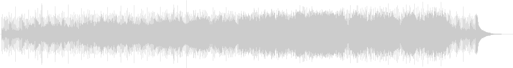 Orchestra with a characteristic feeling of running guitar's unreproduced waveform